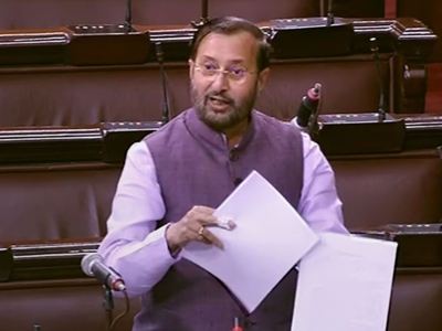 Prakash Javadekar on pollution: If human actions have damaged the earth then human actions will improve it