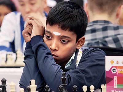 World Youth Chess Championship: R Praggnanandhaa defeats IM Viachaslau Zarubitski to remain at the top