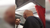 Watch: Passengers engage in verbal clash with Air India flight crew