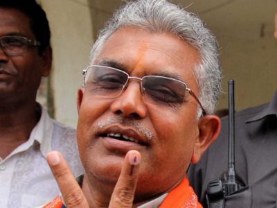 BJP Bengal State President Dilip Ghosh tests positive for COVID-19