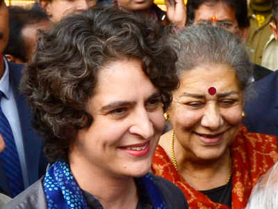 With poll Mahakumbh looming, Priyanka takes political plunge