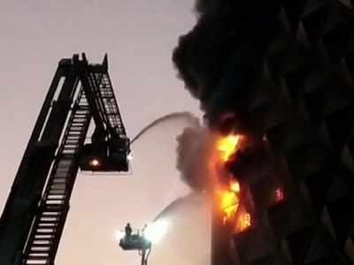 Surat: Major fire breaks out at Raghuveer Market