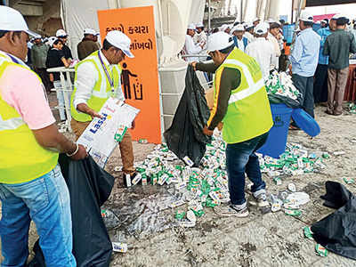 AMC's 3.6k foot soldiers ensure litter-free event