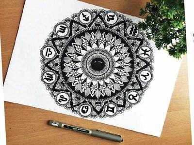 PLAN AHEAD : Sketch a mandala