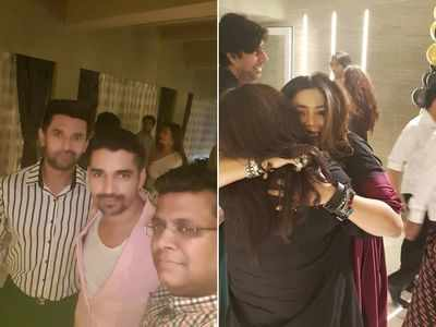 Chirag Paswan attends Ekta Kapoor's birthday party