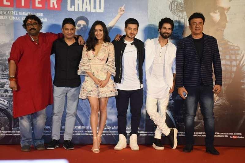 Shahid Kapoor, Shraddha Kapoor and team release trailer of Batti Gul Meter Chalu
