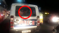 Hyderabad: 3 youths spotted driving police PCR, probe underway