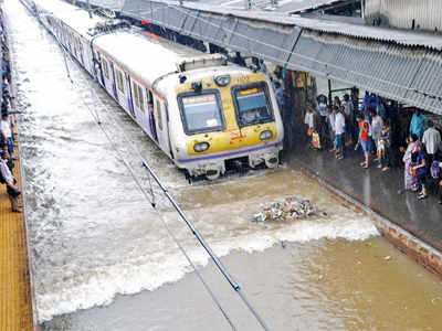 Mumbai rains: Central Railway develops 'waterproof''locomotive engine that will work even in 12 inches of water
