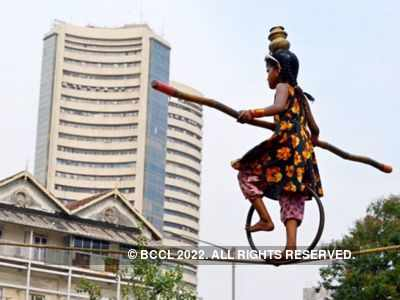 Sensex leaps 584 points, banking and finance scrips gain
