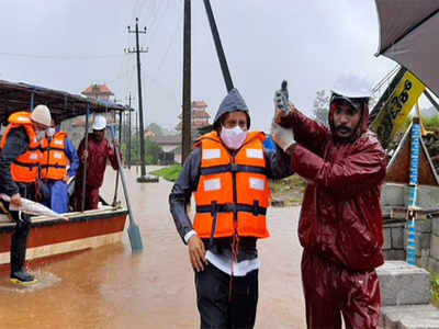 Photos: Karnataka's Kodagu suffers flood-like situation amid incessant rainfall