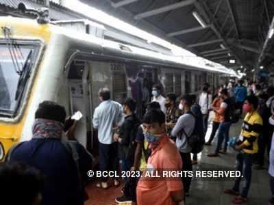 Trains running on all Central Railways corridors amid heavy rainfall forecast