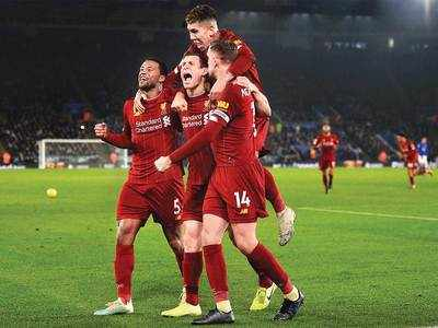 Liverpool stretch their EPL lead to 13 points