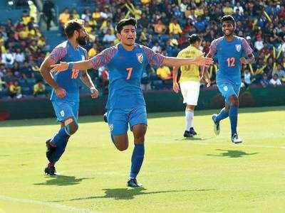 Indian football team defeats hosts Thailand in the King's cup