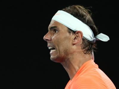 Rafael Nadal's Grand Slam record bid blown away by Stefanos Tsitsipas