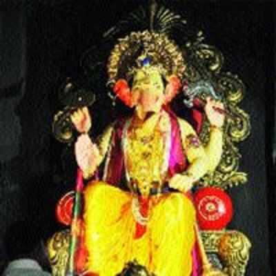 This year, Navi Mumbaicha Raja urges devotees to preserve historic monuments