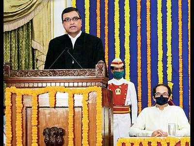 JUSTICE DIPANKAR DATTA SWORN IN AS BOMBAY HIGH COURT CHIEF JUSTICE