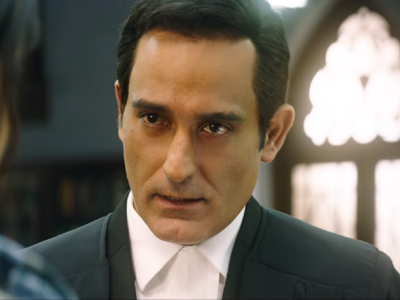 Section 375 movie review: This courtroom drama is a Akshaye Khanna show all the way