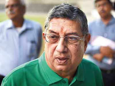 N Srinivasan gets inducted as board member of the Tirumala Tirupati Devasthanam
