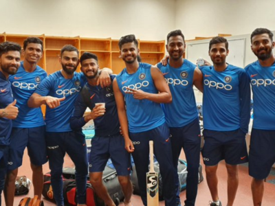 Virat Kohli shares a picture of his 'squad' without Rohit Sharma