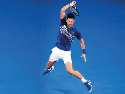 Novak Djokovic enters to face long-time rival Rafael Nadal in finals