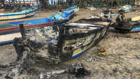Tamil Nadu: Clashes broke out in Cuddalore; boats, huts, vehicles set ablaze