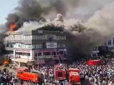 Surat fire tragedy: Three govt officials, one builder held