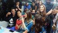 'Housefull 4' on wheels: Akshay Kumar, Kriti Sanon and the cast play Antakshari, enjoy train ride from Mumbai to Delhi