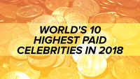 World's 10 highest paid celebrities in 2018