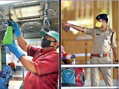 Thank You to all our front-line fighters -doctors, nurses, police, CISF, cleaners - keeping us safe