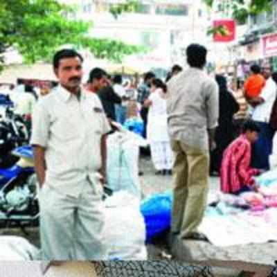 NMMC to appoint beat marshals to evict illegal hawkers