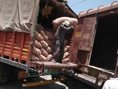 Central Railway transports 100,000 tonnes of onions to Bangladesh from Nashik's Lasalgaon