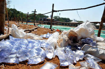 Gujarat: Plastic water pouches banned in Rajkot from June 5