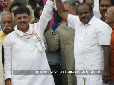 Karnataka CM HD Kumaraswamy's Government Floor Test LIVE updates: HD Kumaraswamy wins trust vote