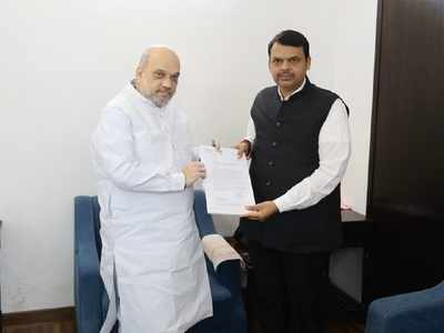 Devendra Fadnavis meets Amit Shah in Delhi, says he is confident about forming new government in Maharashtra