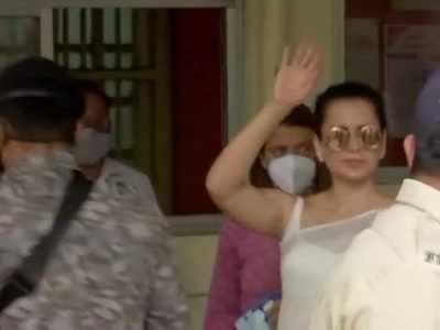 Kangana Ranaut, sister Rangoli Chandel appear before Mumbai police in a sedition case