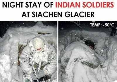 Fake news buster: Photo of Indian soldiers stationed at Siachen?