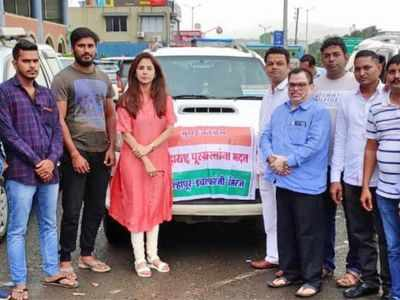 Urmila Matondkar appeals to people to help flood-victims; to celebrate Independence day with flood-victims of Sangli and Kolhapur