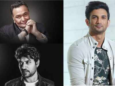 Homage to Irrfan Khan, Rishi Kapoor and Sushant Singh Rajput