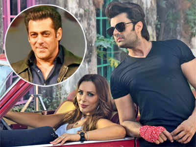 Salman Khan brings Iulia Vantur, Maniesh Paul together