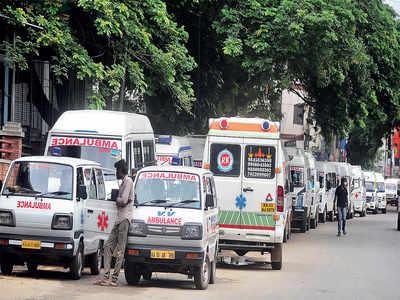 A game of ambulances
