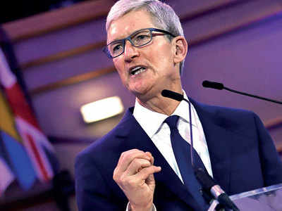 Apple CEO pushes for global corporate tax overhaul