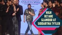 Siddartha Tytler showcased high octane glamour at Delhi Times Fashion Week