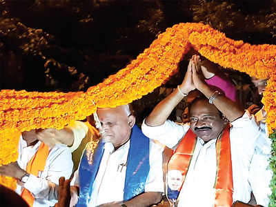 Campaign ends, Chief Minister BS Yediyurappa in strategy mode