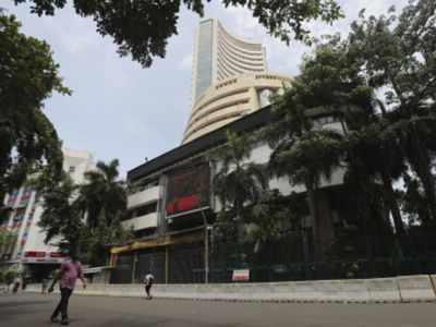 Sensex dips by 97 points amid rising geopolitical tensions
