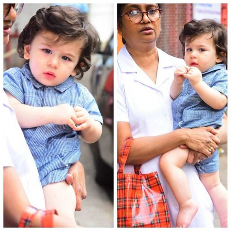 This adorable pic of Taimur Ali Khan will make you go aww!
