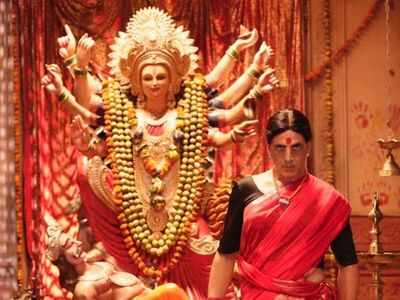 Laxmmi Bomb first look: Akshay Kumar looks fierce in a red saree