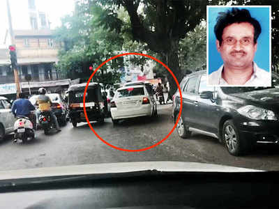 Jailed developer taken home to check on his wife instead of being escorted to Yerwada jail