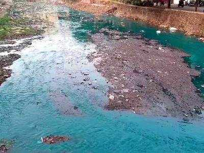 Dombivali locals complain of putrid smell from nullahs