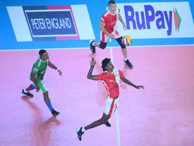 Pro Volleyball League: Calicut Heroes qualify for the playoffs with win over Black Hawks Hyderabad