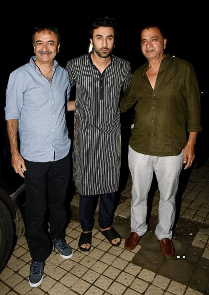 Celebrities at Sanju's special screening